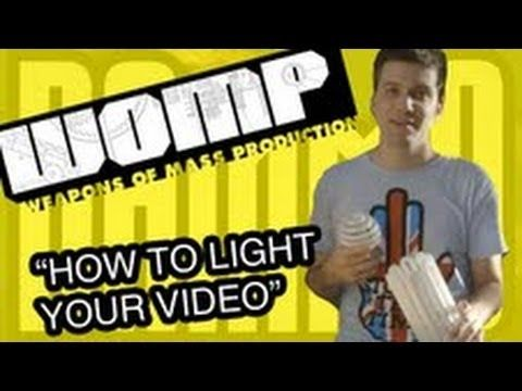 Weapons of Mass Production - How to Light Your Video on a Budget: Weapons of Mass Production
