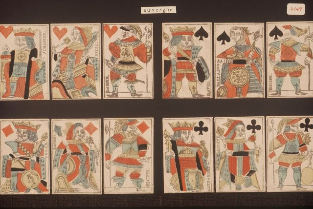 Playing cards and their history: 11: SOME CARDS FROM SYLVIA MANN'S COLLECTION [AMENDED 12.5.14]