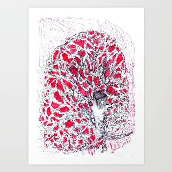 Gala Art Print by Inda_design/Indira Kusmic/   Society6