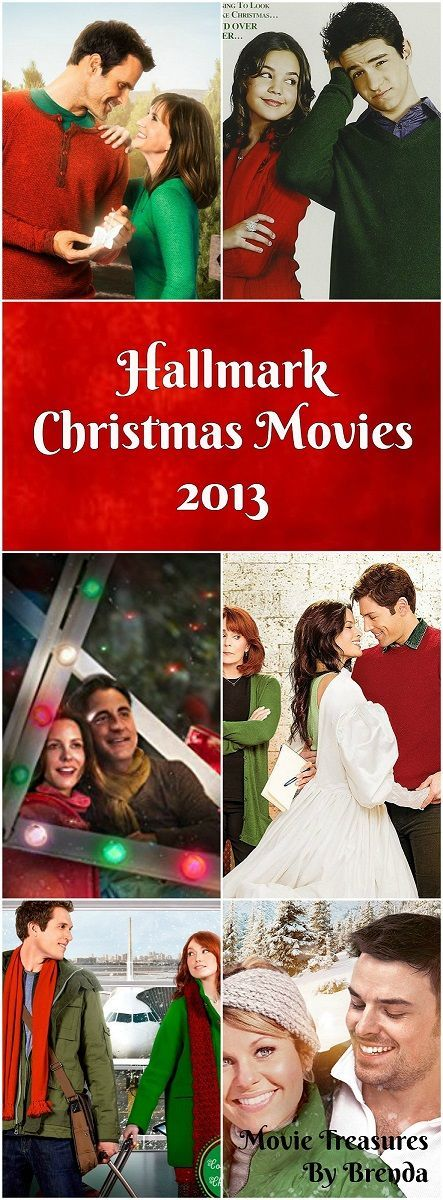 Hallmark Christmas Movies List (2013) - Great gift ideas at Christmastime for someone who loves Hallmark movies!