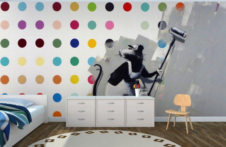 17 best ideas about banksy rat on pinterest banksy for Banksy rat mural