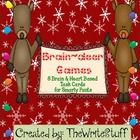 Brain-deer games...challenge young minds all through the Christmas season