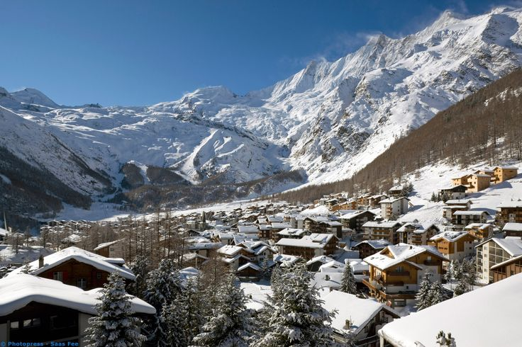 Saas Fee, the most perfect place I have ever been...