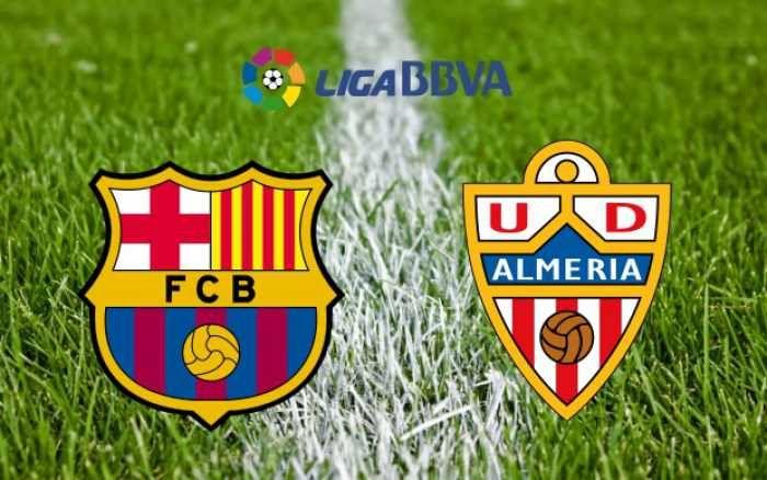 #LaLiga: #Barcelona vs #Almeria 2015 Live Streaming Score Info – Predictions – 8th April - http://shar.es/1gZLVJ  #BarcelonavsAlmeria #BarcelonavAlmeria