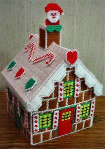 Free Easter Plastic Canvas Patterns | instant download of this pattern gingerbread house pattern 29