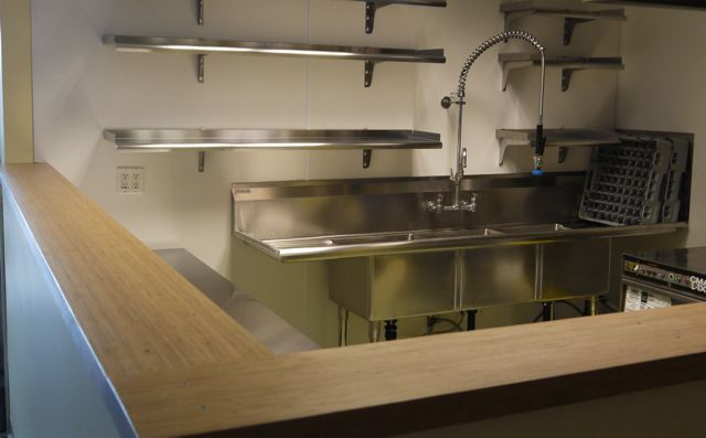 Perfect commercial kitchen countertops for your home for Small commercial kitchen designs