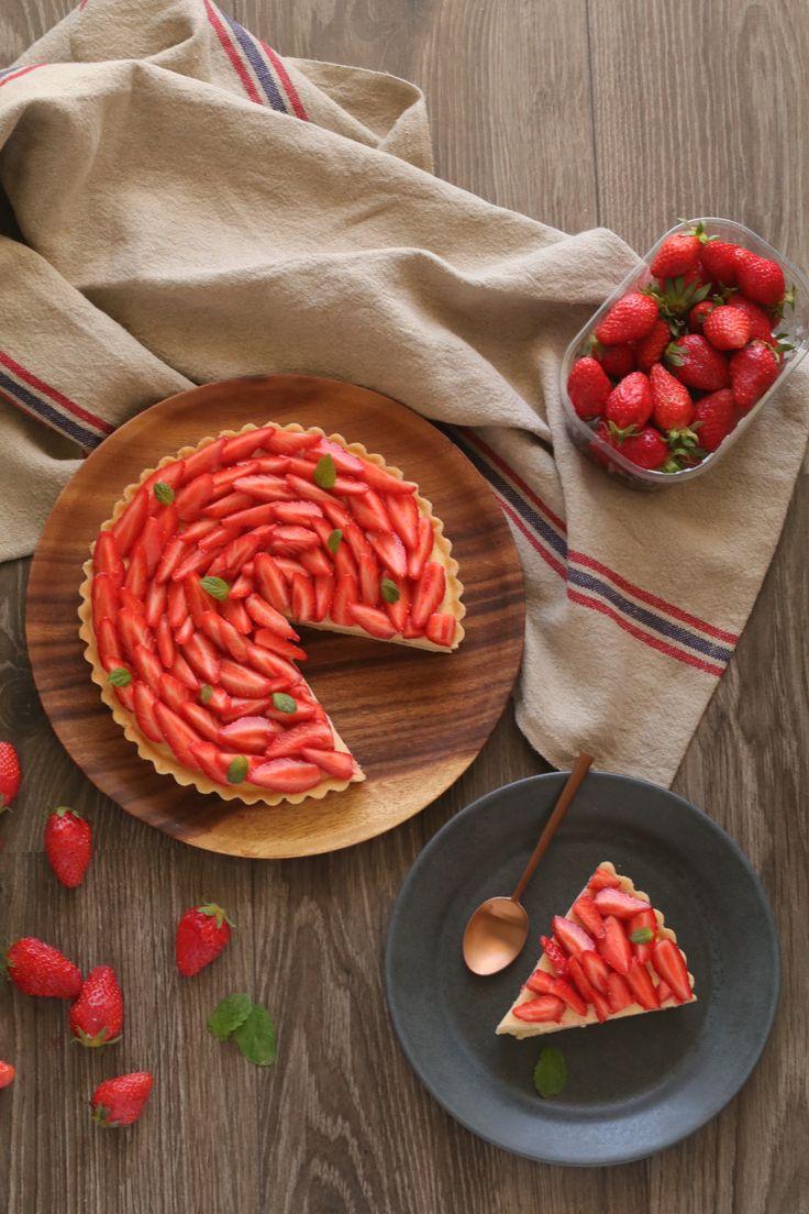 Tarta de frutilla y menta de Sweetie Pie Chile