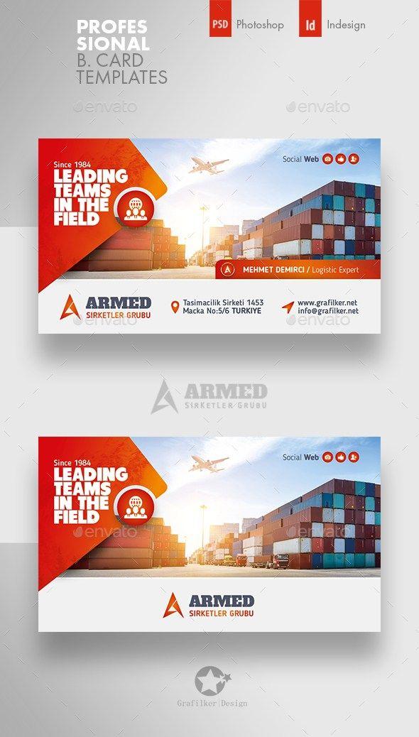 International Business Card Templates Desain Banner Banner Web Brosur