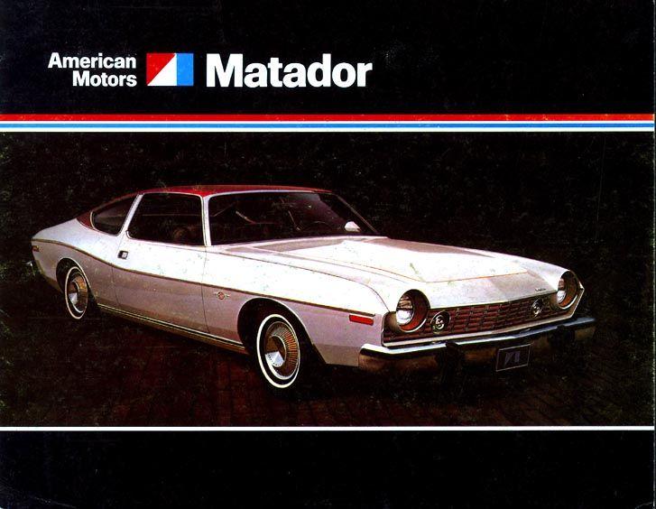 Matador Car: Classic Car Broschyrer