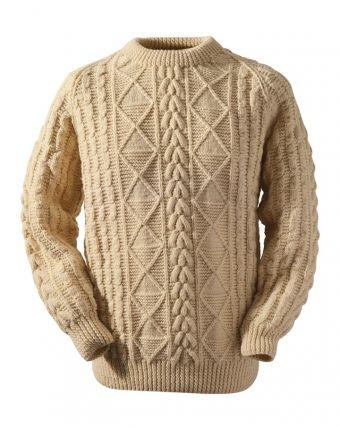 Conway Irish Hand Knit Sweater