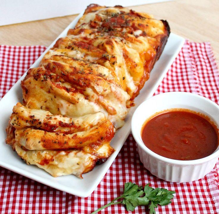 Pizza Pull-Apart Bread http://stickafork.net/2012/11/pizza-pull-apart-bread/