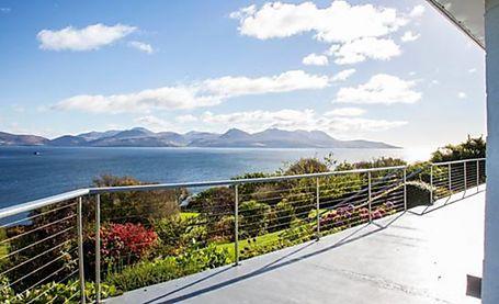 Stunning waterfront views in Scotland