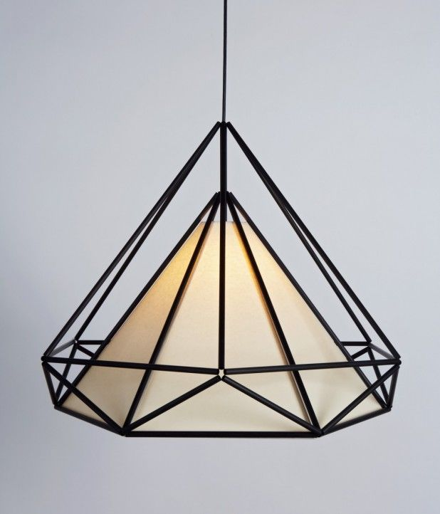 This utterly stunning lightshade sculpture would take weeks and weeks of trial and error to make a Himmeli project.  | |  mociun : Photo