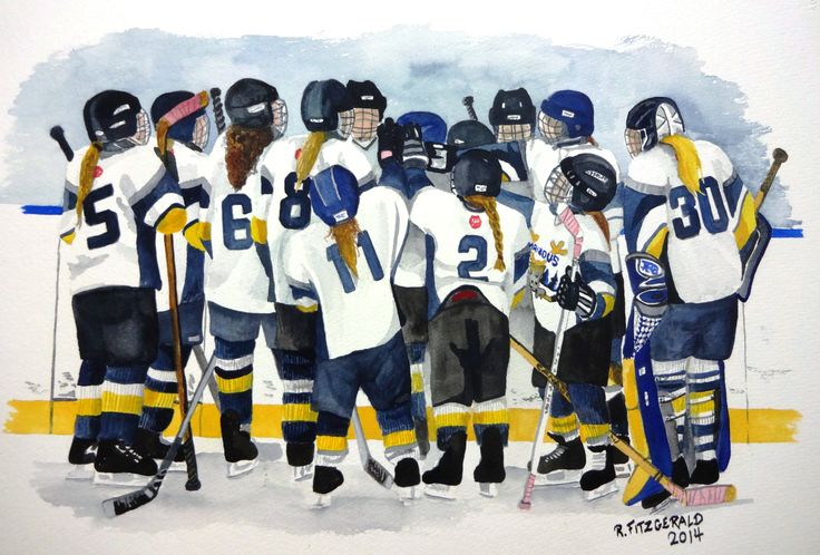 The Girls Team by Reilly Fitzgerald