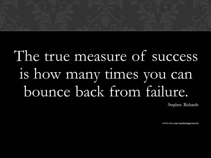 the true measure of success essay The true measure of business success  the true measure of success as an early entrepreneur is how much you're learning—about your clients, your offering, your market, your business, and.