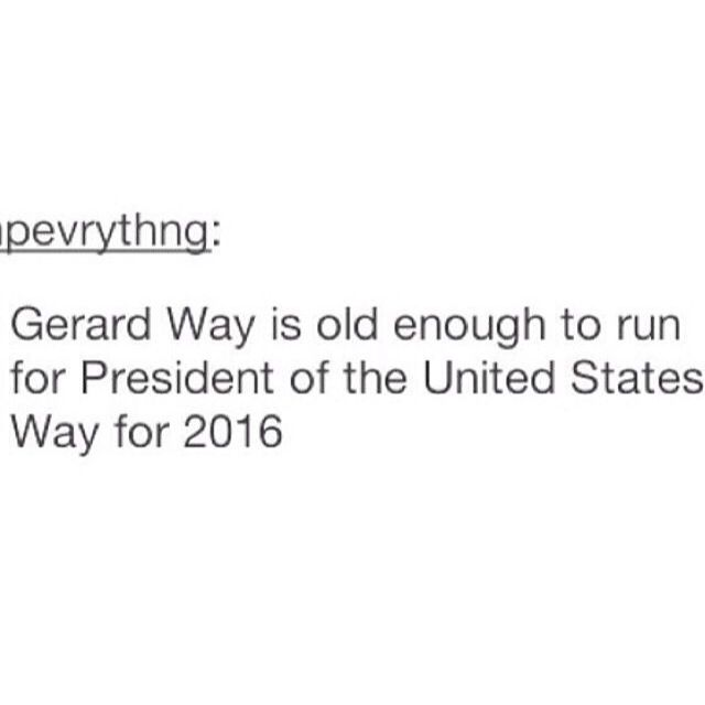 YYESSS I will literally move to America and live there forever if Gee was president