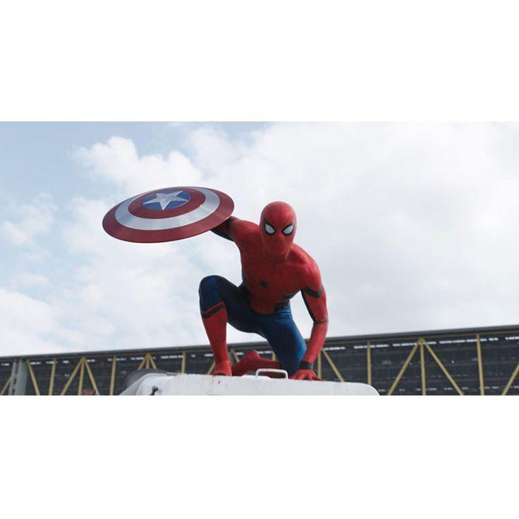 Captain America Civil War Spiderman Gallery Print