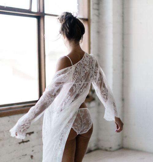 La marque de lingerie Mae's Sunday #weddinglingerie