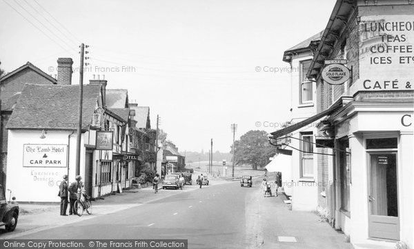 Hartley Wintney, High Street c.1955, from Francis Frith