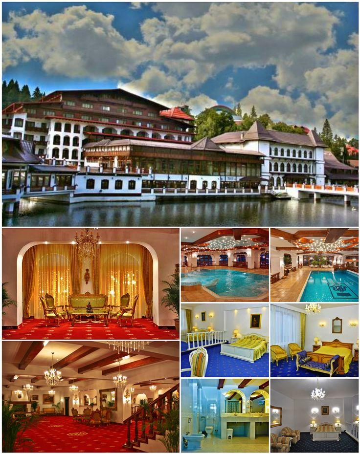Cu o poziţie pitorească pe malul Lacului Mioriţa, în staţiunea montană Poiana Braşov, hotelul de 5 stele Aurelius Împăratul Romanilor a fost construit în anul 2006, oferind cazare elegantă şi sofisticată.  Camerele bine amenajate sunt foarte spaţioase şi luminoase. Sunt decorate cu mobilier de lux şi cu atenţie la detalii.