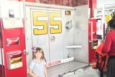Visita a los bomberos Blog | Nobis Pacem