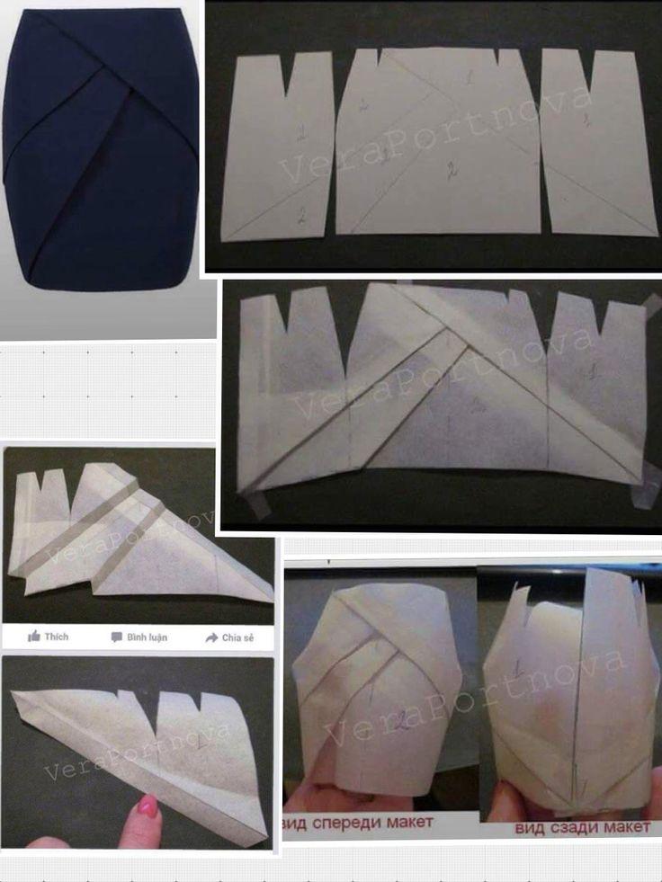 Molde falda