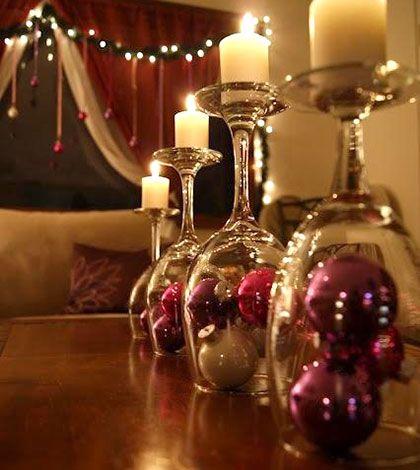 Snadné vychytávky pro nejkrásnější vánoční stůl – Svíčky!