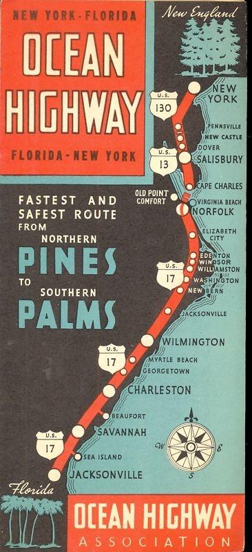 Highway Map Of Florida.Pin By Tami Bennington On Let S Go Pinterest Travel Vintage