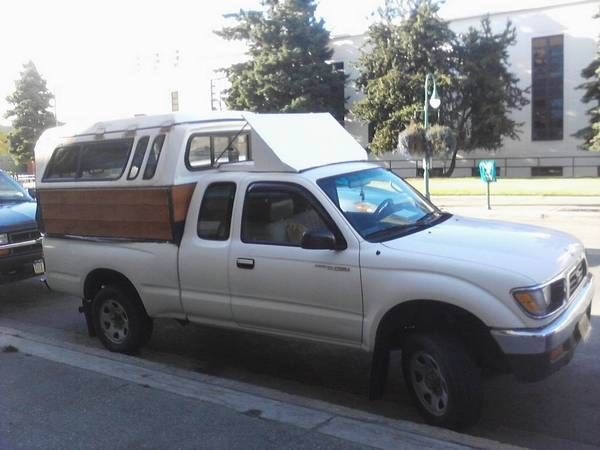 Homemade Pickup Topper | foil deflector homemade obviously the double decker truck topper ...