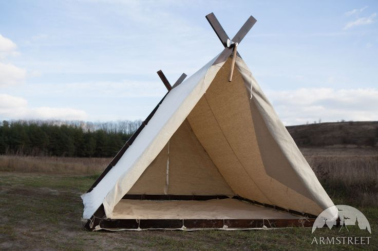 Medieval Viking Tent for SCA and Reenactment $574