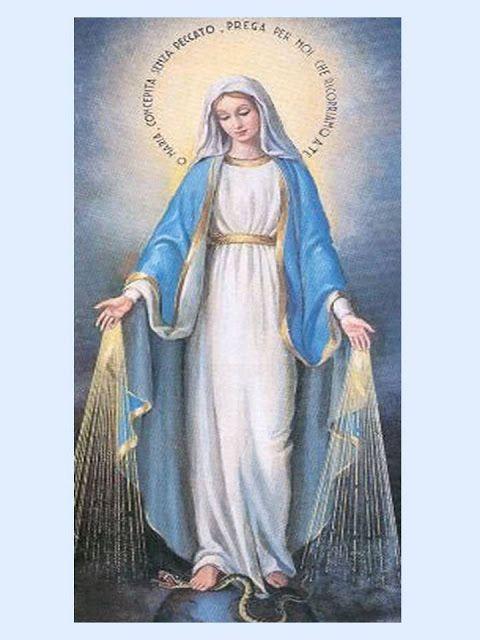 Oraciones A La Virgen Oracion A La Virgen De La Medalla Milagrosa Para U Oracion Virgen Milagrosa Oracion A Maria Auxiliadora Oracion A La Virgen