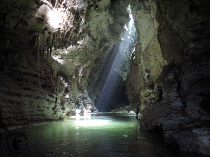 Neuseeland - Kiwi Cave Rafting