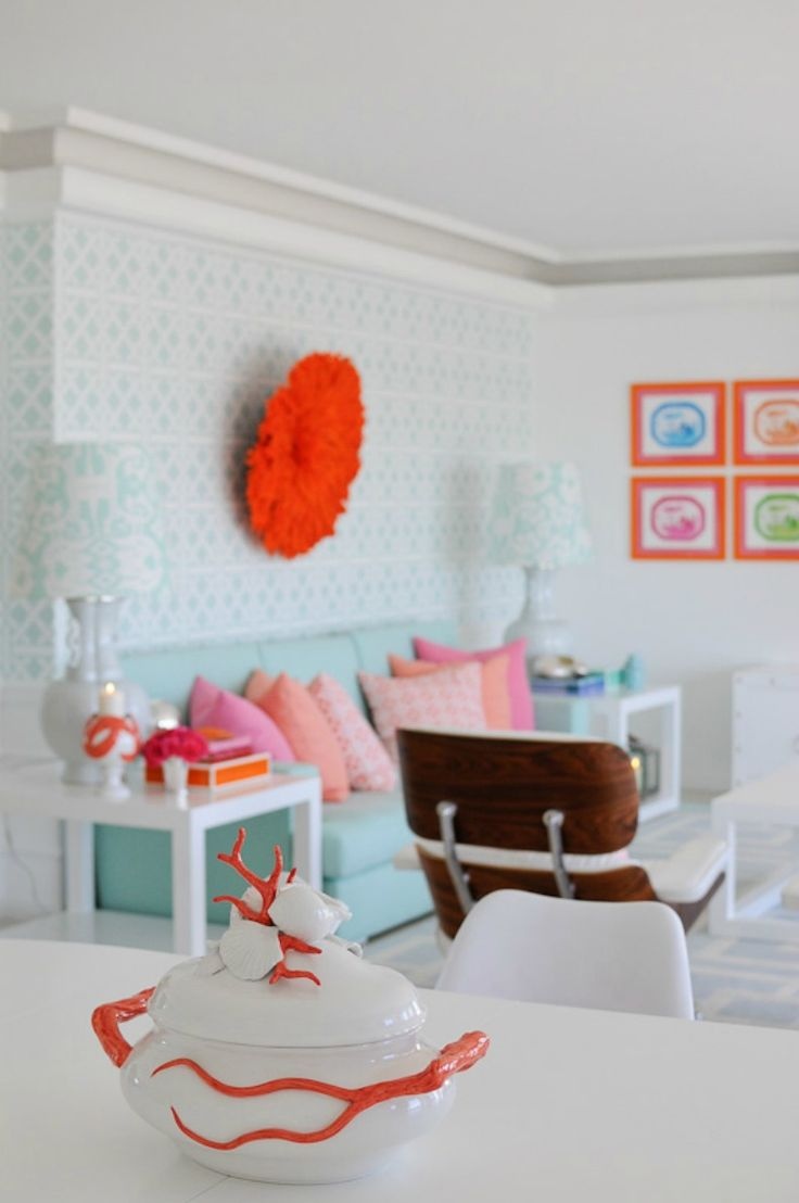 Coastal Home: Spotted from the Crow's Nest:Beach House TourFresh Squeezed Color