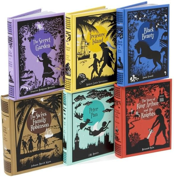Childrens Classics Collection Barnes Noble Leatherbound By Peter Pan