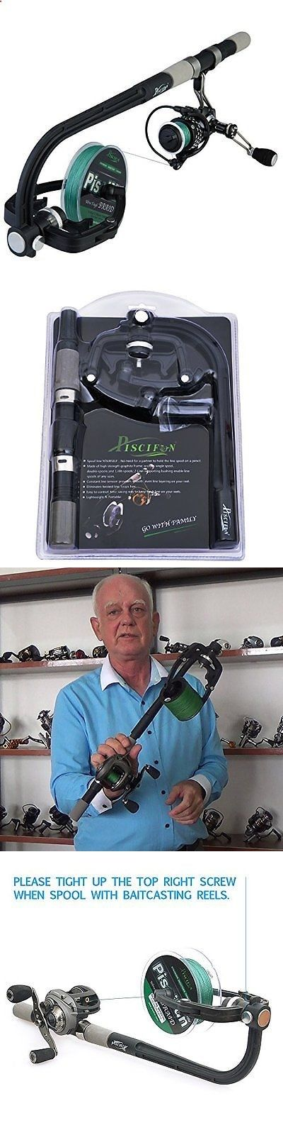 Line Tools and Accessories 179971: Professional Portable Spooling Station Fishing Reel Line Spooler And Winder -> BUY IT NOW ONLY: $46.23 on eBay!