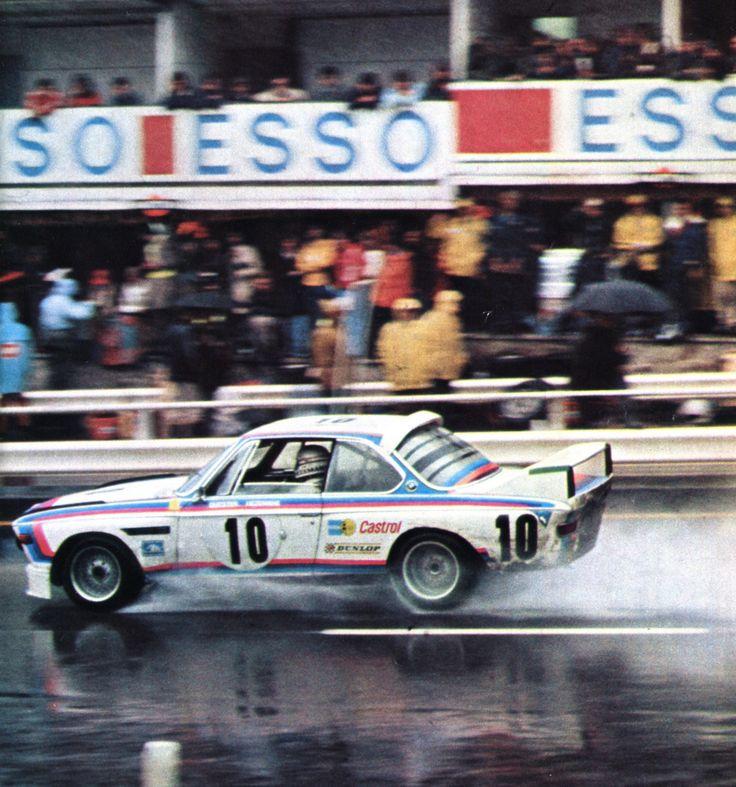 Hezemans -Quester (BMW 3.0 CSL) 1er 24 heures de Spa Francorchamps - L'Automobile septembre 1973
