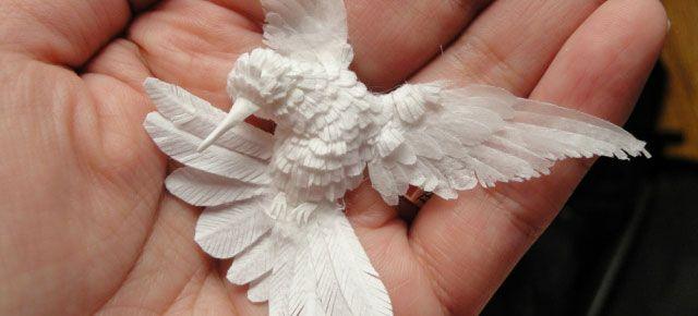 Amazing paper hummer