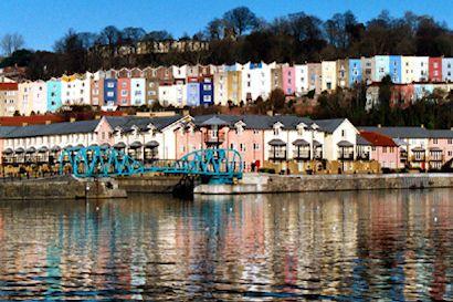 Bristol.  !! I live there !!