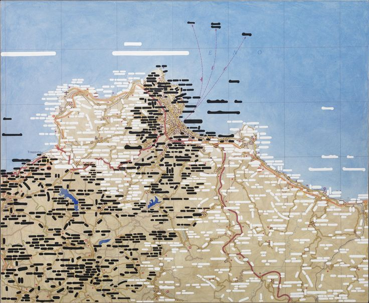 Eno trappeto, 2007, acrylic on canvas on panel, cm 100 x 120 / in 39.37 x 47.24, Courtesy Tornabuoni Art