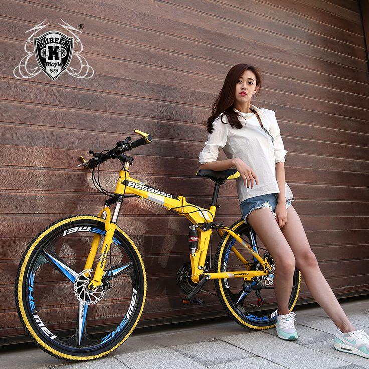 KUBEEN-BEGASOO 26inch folding mountain bike 21 speed double damping 3 knife wheel bicycle double disc brakes mountain bike | StyleMakerz | Online Store and Blogs