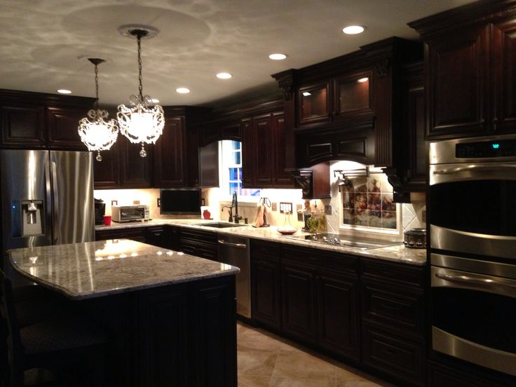 traditional kitchen cabinets cherry java by