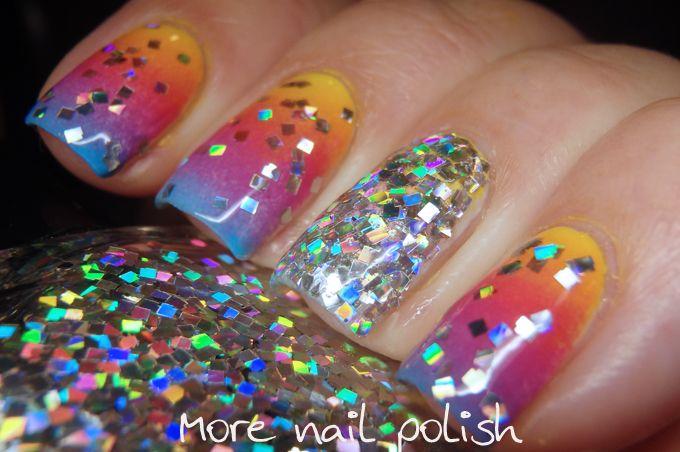 Digital Dozen does All that Glitters - Day 3 ~ More Nail Polish