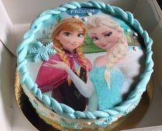 Gâteau reine des neiges avec disque azyme