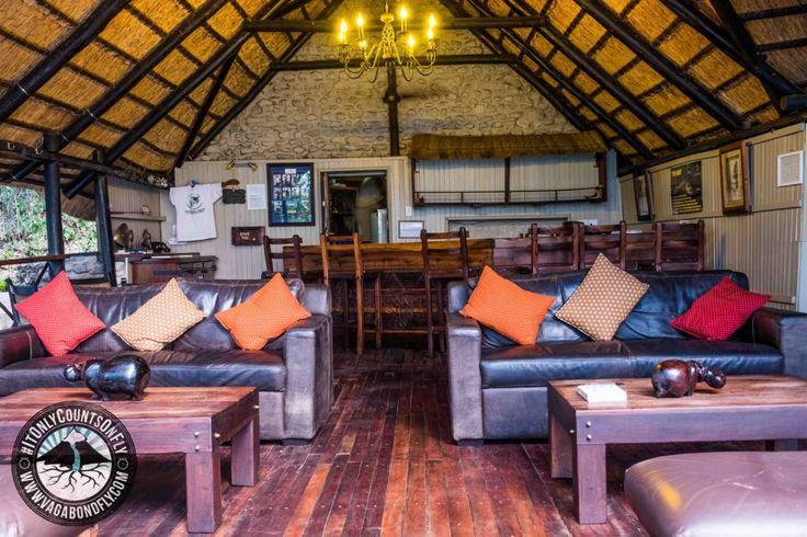 Main lounge area at Ichingo Chobe River Lodge