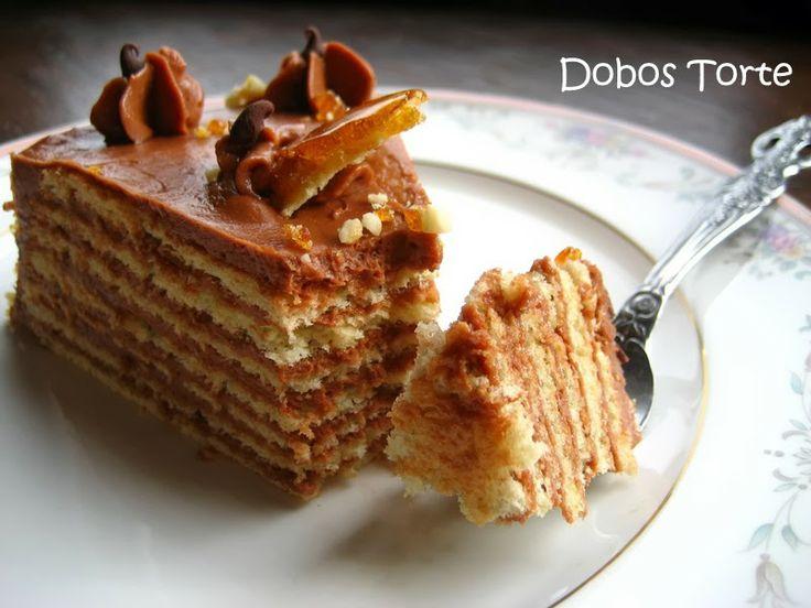 dobos tota recepies | dobos torte ah finally i baked my first dobos torte after so many ...