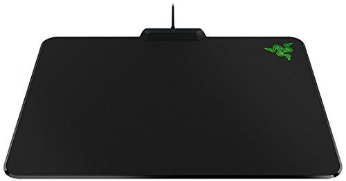 Razer Firefly -Tapis de Souris; Hard Gaming Mouse Mat avec Rétro-Eclairage RGB, Tapis Gaming Professionnel: La surface micro-texturée pour…