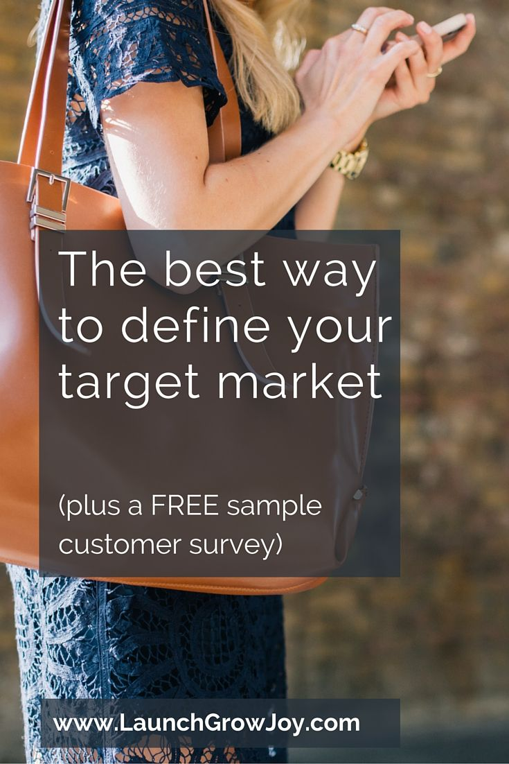 Does defining your target market seem impossible? Here's the easiest & fastest way to define your target market with customer surveys (plus a free template)