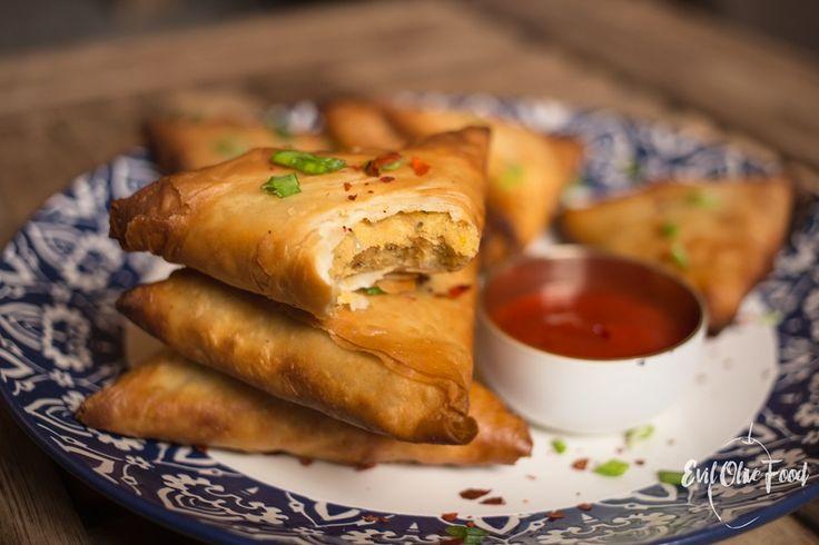 Falafel samosas / Самосы с фалафелем #samosas #falafel #chickpeas #recipe #food_blog #cooking_blog #evilolivefood #evilolive #самомы #рецепт #фалафель #кулинарный_блог #блог