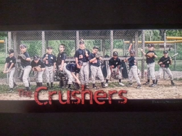 Adorable pic of my nephews baseball team. Sandlot Photo. Photographer Stacey Neer. @Cara K Boyer might like this!
