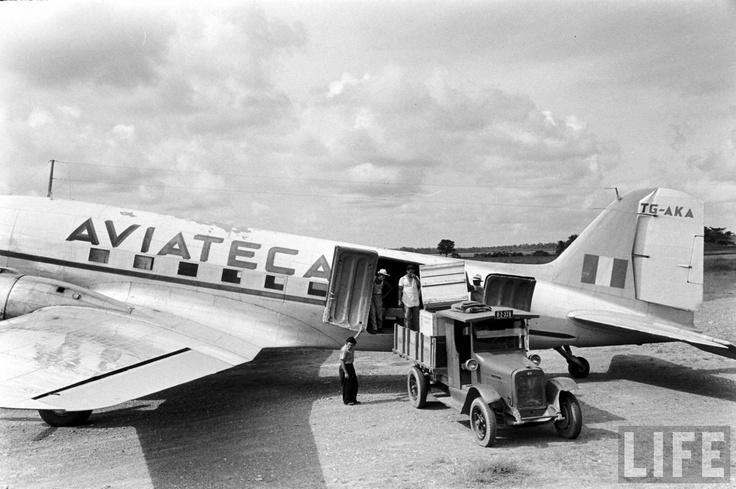 Aviateca la línea área de los Mayas